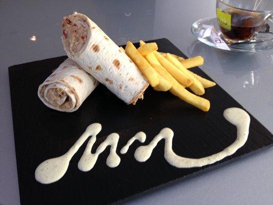 Ayre Hotel Gran Via: Lovely Tuna Wrap