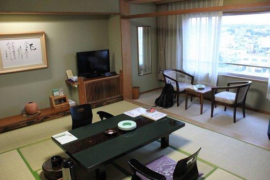 Yumoto Takubokutei: 客室です