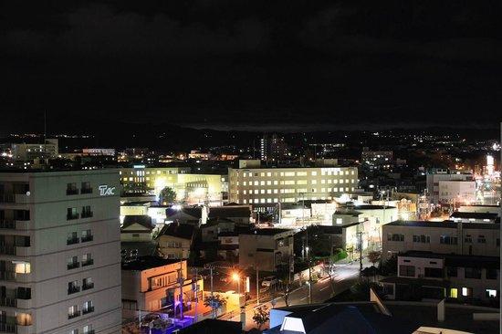 Yumoto Takubokutei: 客室から眺めた夜景です