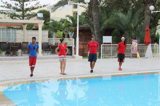 Hotel Occidental Grand Monastir : Animation Team