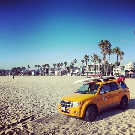Hilton Garden Inn Los Angeles Marina Del Rey: Beautiful Venice beach 15 mins walk from hotel