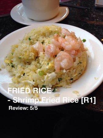 Din Tai Fung: FRIED RISE; Shrimp Fried Rise