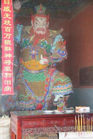 Zhongyue Temple: божество