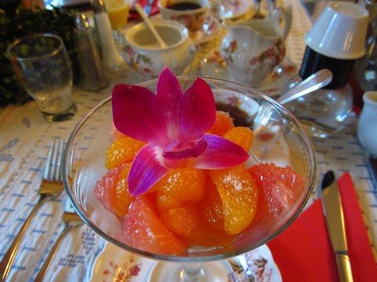 Gite La Petite Douceur : Breakfast first course