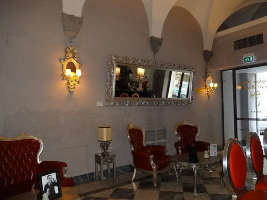 Borghese Palace Art Hotel: salon