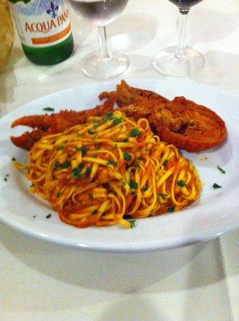 Tavernetta San Maurizio : Tagliatelles au Homard 16€