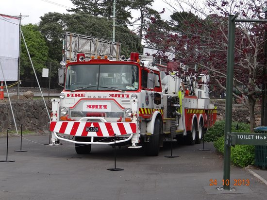 Museum of Transport and Technology : Fire Engine