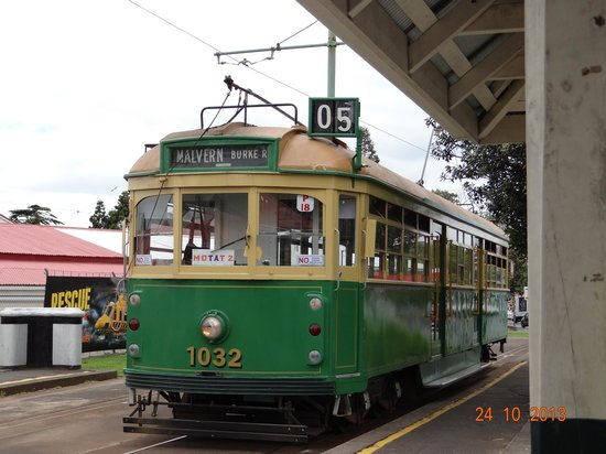 Museum of Transport and Technology: 1 of the link trams