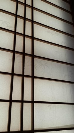 Villa Taketomi: Detail shot - rice paper screen in our room