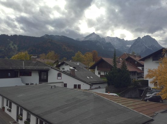 Hotel Garmischer Hof: View from our room