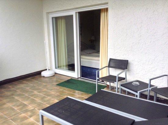 Hotel Garmischer Hof: Balcony