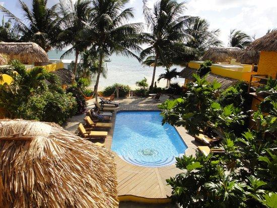 Seaside Cabanas: Vue de la piscine