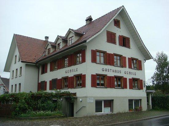 """Gasthaus Gemsle: Gashaus """"Gemsle"""" Matrktsgtraße 62 Dornbirn"""