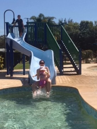 Discovery Parks - Harrington: Fun on the slide
