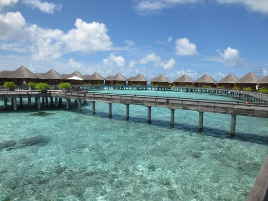 Baros Maldives : Water villas