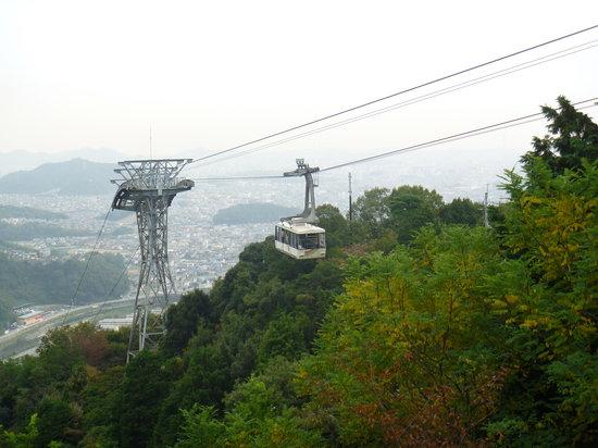 Mt Shosha hiking: ロープウェイ