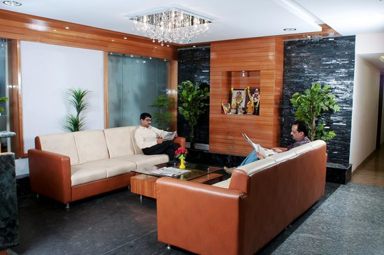 Sheetal Residency: Waiting area