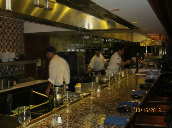 Buzios Seafood Restaurant at Rio: kitchen