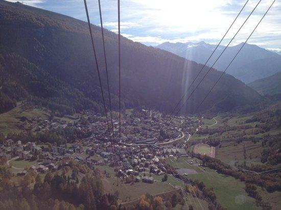 Thermal Hotels und Walliser Alpentherme & Spa: Ausblick von der Gemmi