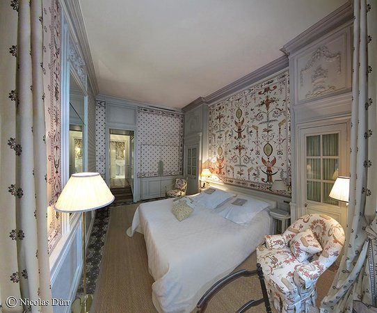 La Mirande Hotel: Vue générale de la chambre 25