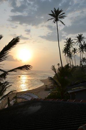 Beach Inns: from the window
