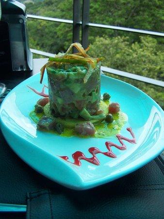Pikeos de Machu Picchu: Tuna Tartar