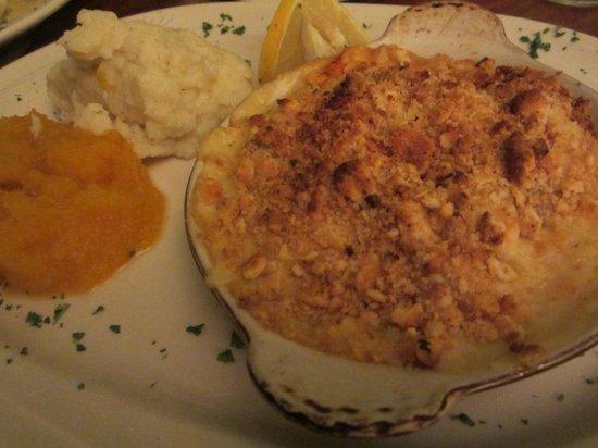 S.S. Milton: Lobster casserole