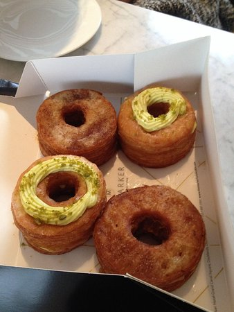 The Marker Hotel: Cronuts themselves. The ones without frosting were the nicer ones