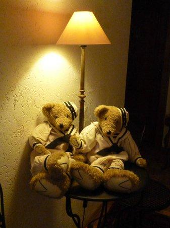 Bellevue Hotel: nette Deko am Gang vor den Zimmern