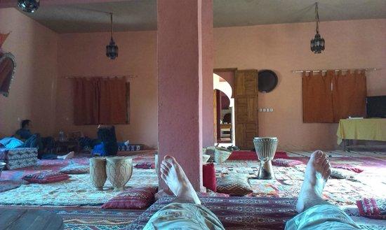 Hotel Ksar Merzouga: Sala descanso