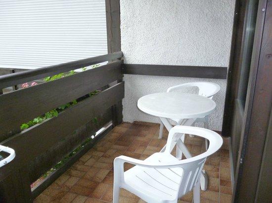 Bellevue Hotel: Balkon