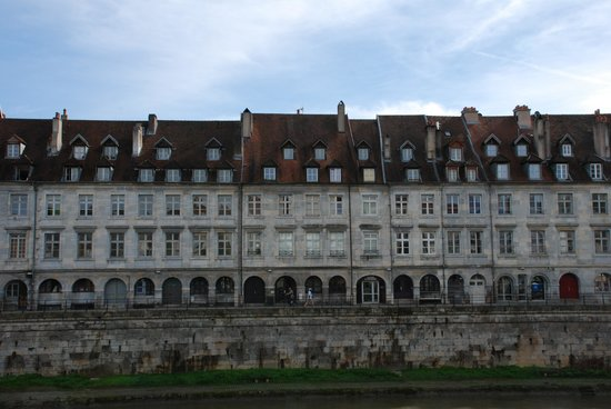 Hotel Vauban: From the other side of the river