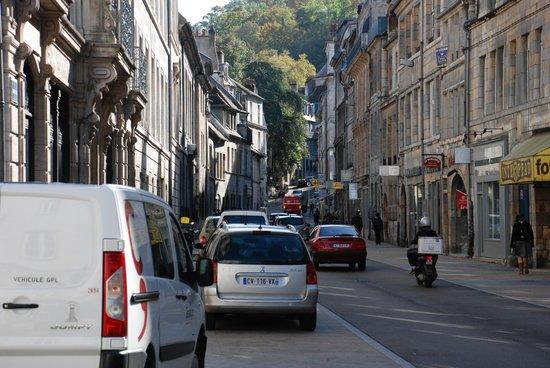 Hotel Vauban: Nearby street