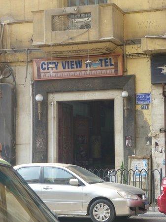 City View Hotel: sin asustarse, adentro cambia