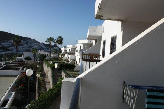 Cumana Apartments: Utsikt fra balkong