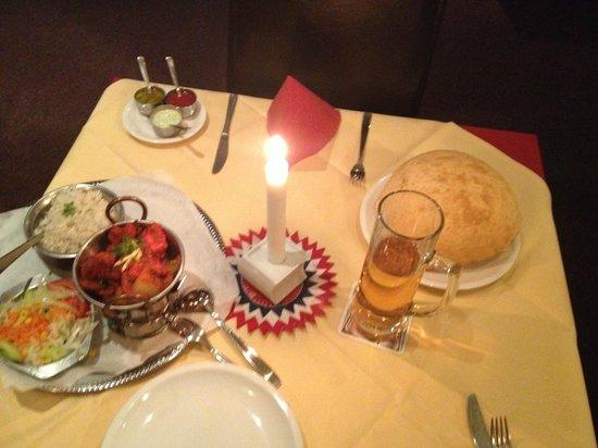 Indisches Restaurant Maharadscha: seconda portata