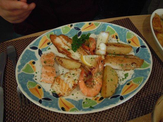 Le Pescadou: Fish a la plancha
