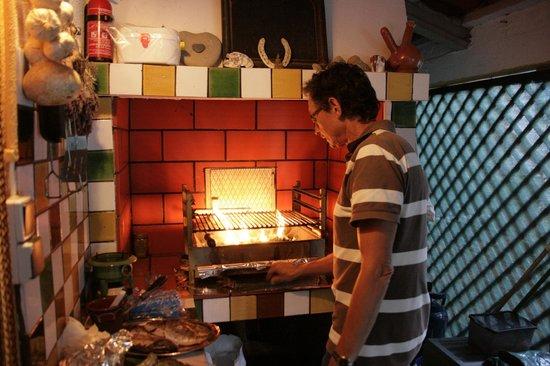 Quinta da vida Serena : BBQ bij QS - chef Jaap