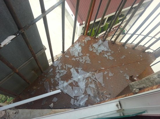 Mehtap Beach Hotel : 5th floor fire escape