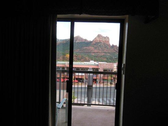 Matterhorn Inn : 2階のお部屋からの眺め