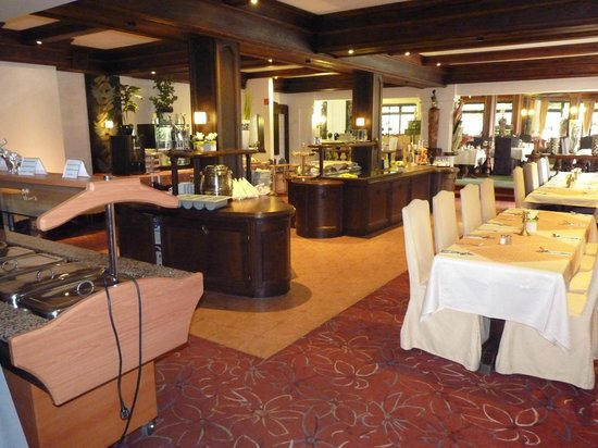 Schlosshotel Sophia: De eetzaal