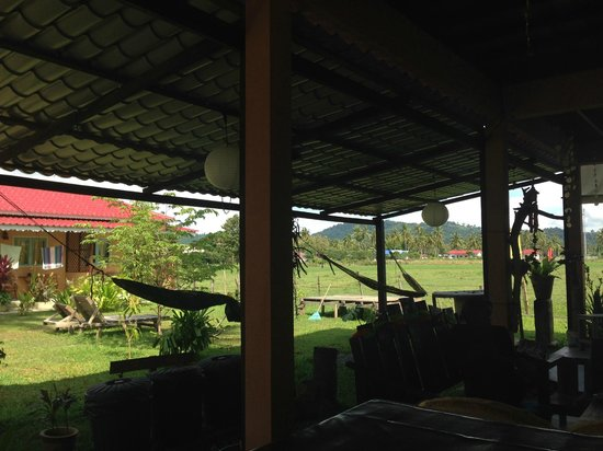 Soluna Guest House: View from the common area