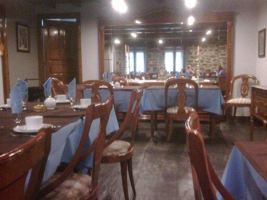 Hotel La Balsa: El comedor, acogedor e impecablemente limpio