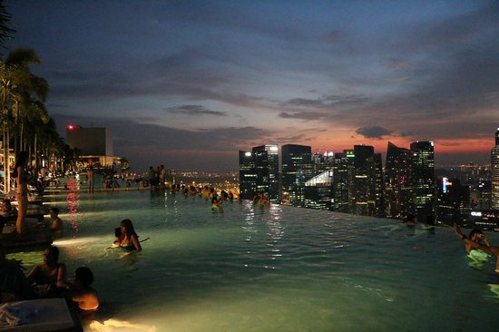 Piscina foto di marina bay sands singapore tripadvisor - Marina bay sands piscina ...