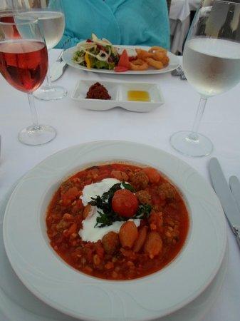Sirkeci Mansion : dinner at roof restaurant