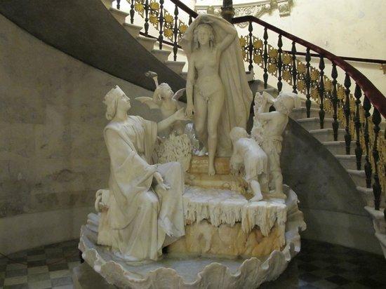 Museo Revoltella: the fountain