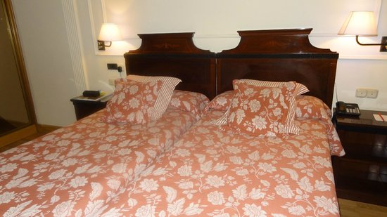 Hotel Husa Europa: Nuestra habitacion