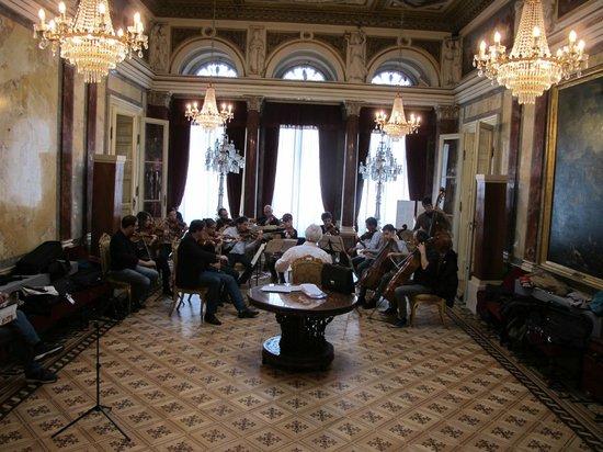 Museo Revoltella: music salon