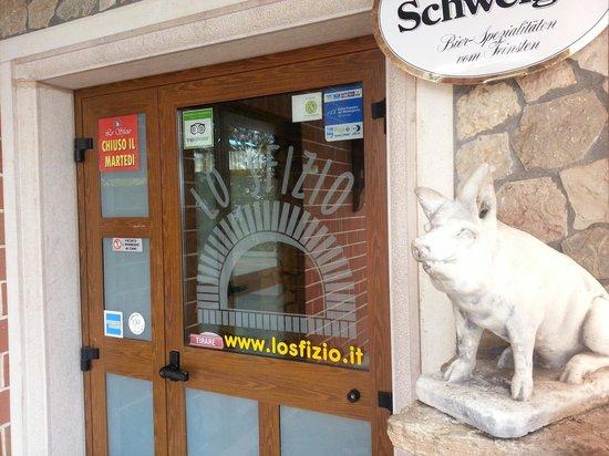 Lo Sfizio Ristorante Pizzeria: Il maialino
