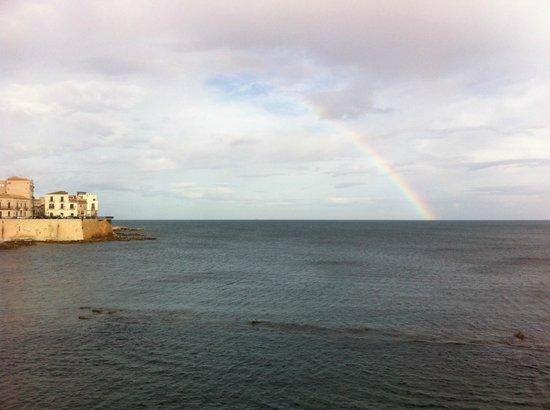 Sicily Legend: L'arcobaleno a Ortigia